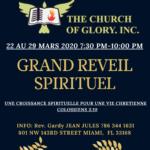 """GRAND REVEIL SPIRITUEL"""